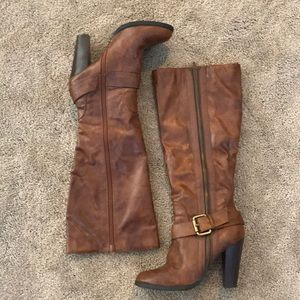 Elle Shoes - Elle tall boots